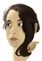 Lazzy self-portrait