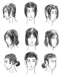 Some Sil hairs (digi doodle plannin)