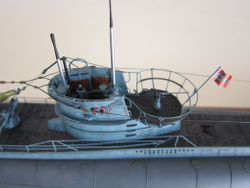 U-boat VIIC U-564  1/144 scale