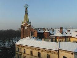 pogled sa prozora - Krakow