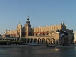 Krakow - rano ujutru