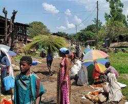 lokalna pijaca u Severnoj Etiopiji