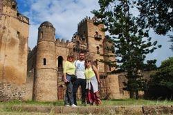 Gondar tvrdjava u Etiopiji