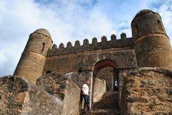 tvrdjava u Gondaru ¿ Etiopija