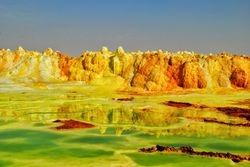 Nesvakidasnje boje prirode - Dalol Danakil Etiopija