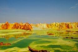 Dallol vulkan - Danakil Depresija - Etiopija