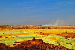 Dallol - Danakil Depresija ¿ Etiopija