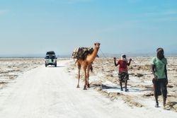 Transport soli u Danakil depresiji