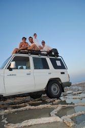 voznja kroz Danakil jezero
