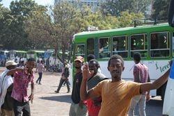 Autobuska stanica u juznoj Etiopiji