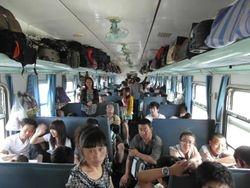migracioni voz... 30 klupa... 200 putnika... 2600km... 44 sati puta... temperatura 40*C