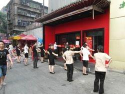 uobicajne aktivnosti zaposlenih u Kini na pocetku radnog vremena
