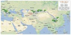 Put Svile - mapa puta