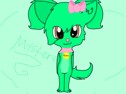 My main OC, Mystery