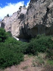 Pictograph Caves July 7 2014