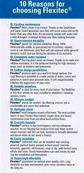 10 reasons for choosing Flexitec