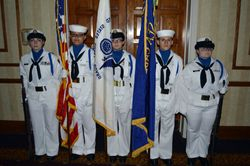 Our Sea Scout Color Guard