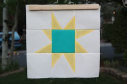 Wonky star for guild outreach project