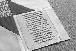 Poem for the kids' quilts