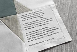Poem for dad's quilt