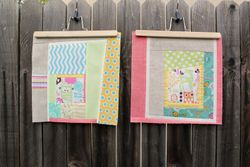 Improv blocks for Quilts for Cancer bee