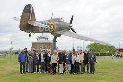 North Weald Gate Guardian 72 group