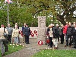 North Weald Air Museum - 72 Sqn wreath laying