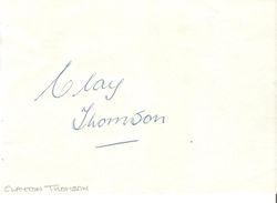 Clayton Thomson