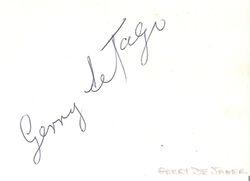 Gerry de Jager