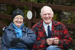 Coalcleugh Farm spectators