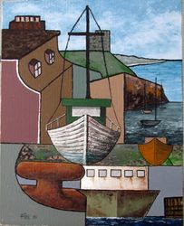 Signal Hill with boats