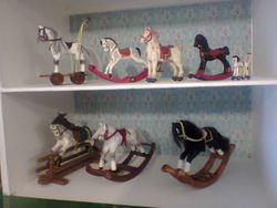 My 12th Rocking horses have moved in