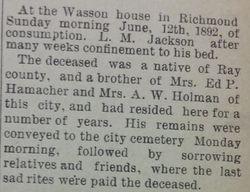 L. M. Jackson