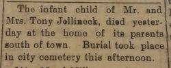 Infant Jellineck