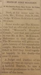 Judge William McKissack