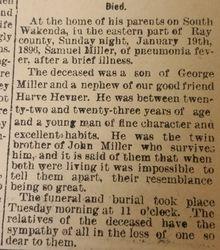 Samuel Miller part 1