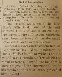 William Gordon Jr.