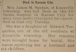 Mrs. James Sandals