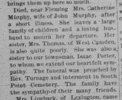 Catherine Porter Murphy