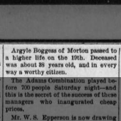 Argyle Boggess