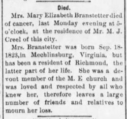 Mary Ewing Branstetter