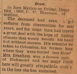 C. C. Branham