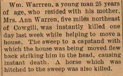 William Warren