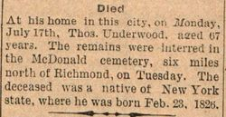 Thomas Underwood