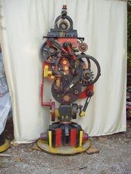 fire department pump with fireman