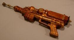 Ecto-Plasma Generating Rifle