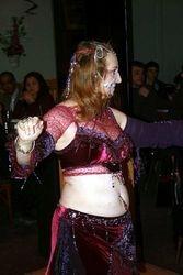 Dark Tribal Belly Dance costume