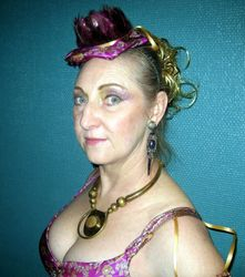 Steampunk Belly Fusion costume hat