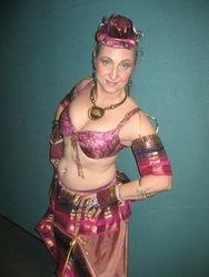 Zamira dances Steampunk