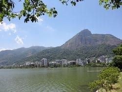 Rio de Janeiro, Ipanema, jezero Rodrigo de Freitas